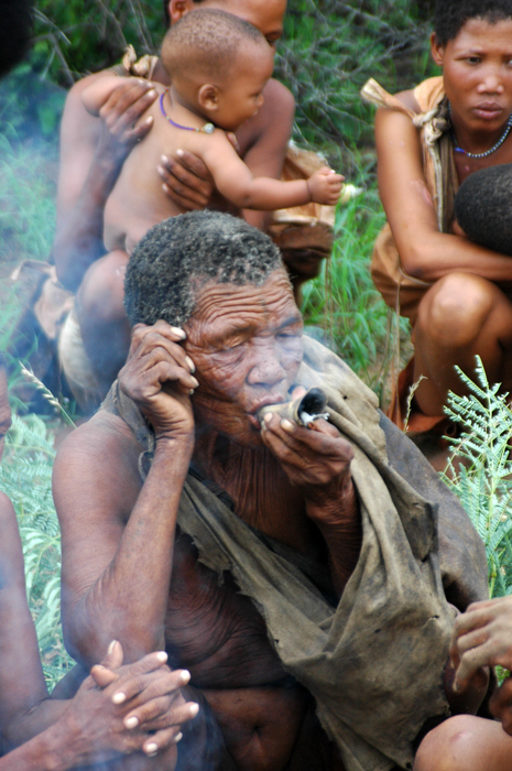 San People Of Botswana 2008