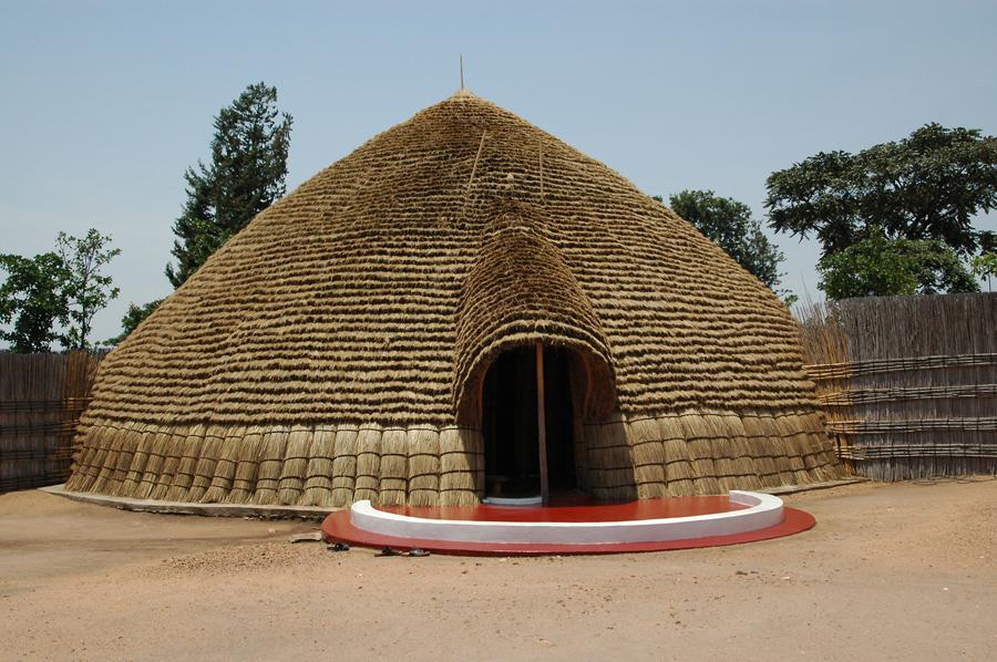 The King S Palace In Rwanda