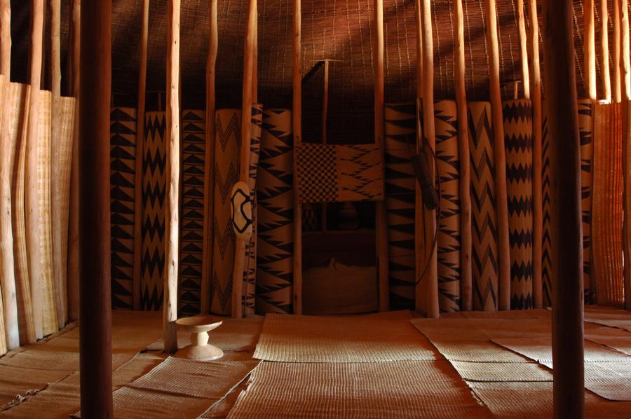 Bamboo Hut Bedroom