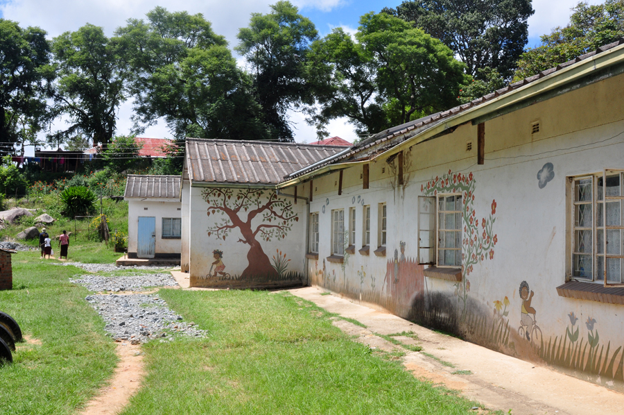 One Of The Two Residences For Nine Children Who Live At R G Mugabe Orphanage