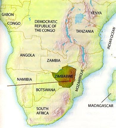Great Zimbabwe World Map.Safari In Zimbabwe Room 226